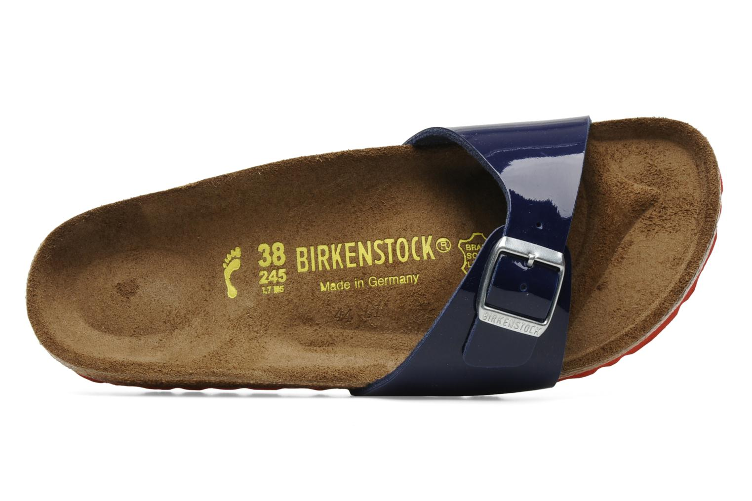 Wedges Birkenstock Madrid Flor W Blauw links